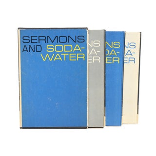 """1960 """"Sermons and Soda-Water"""" Books - Set of 3"""