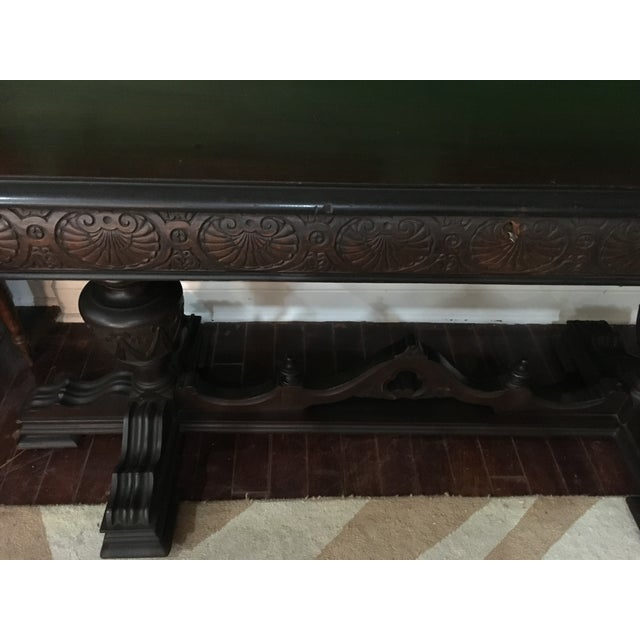 Antique Adjustable Library Table - Image 6 of 10