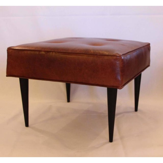 Leather Benches in the Manner of Paul McCobb - Image 2 of 5