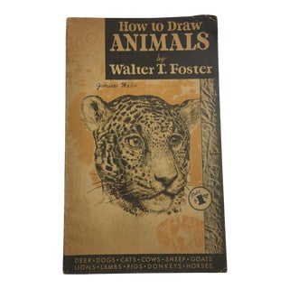 How to Draw Animals Walter T. Foster