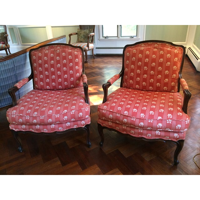Baker Furniture Bergere Chairs - A Pair - Image 2 of 11