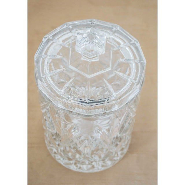 Lead Crystal Ice Bucket With Lid - Image 2 of 6