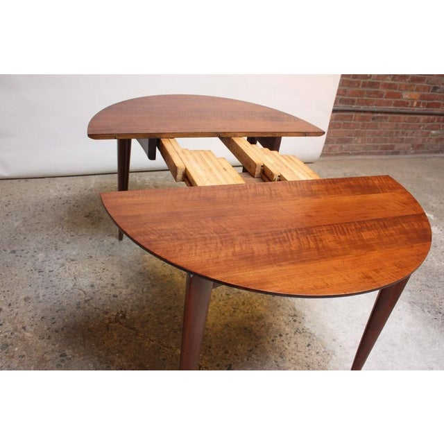 Image of Gio Ponti Italian Walnut Dining Table for Singer & Sons