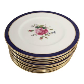 Vintage English China Luncheon Plates - Set of 12