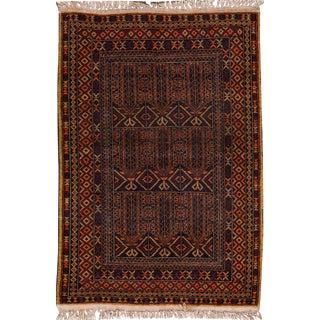 "Apadana - Vintage Persian Balouch Rug, 3' x 4'7"""