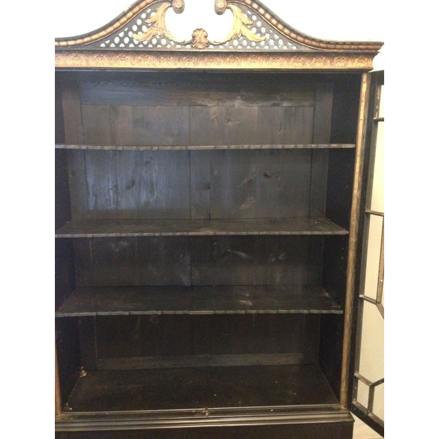 Antique Chinese Chippendale Cabinet - Image 8 of 8