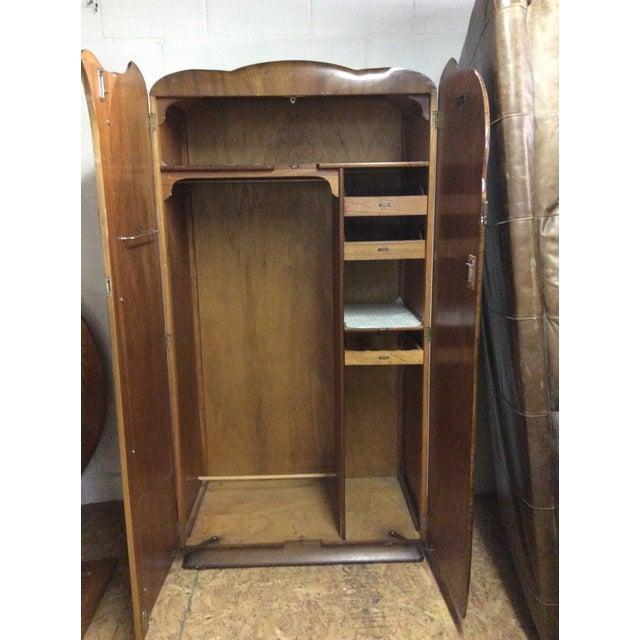 Vintage Wardrobe Closet Chairish