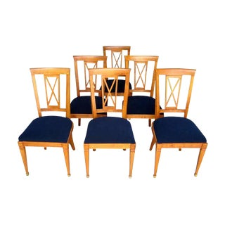 1940s French Dining Chairs - Set of 6