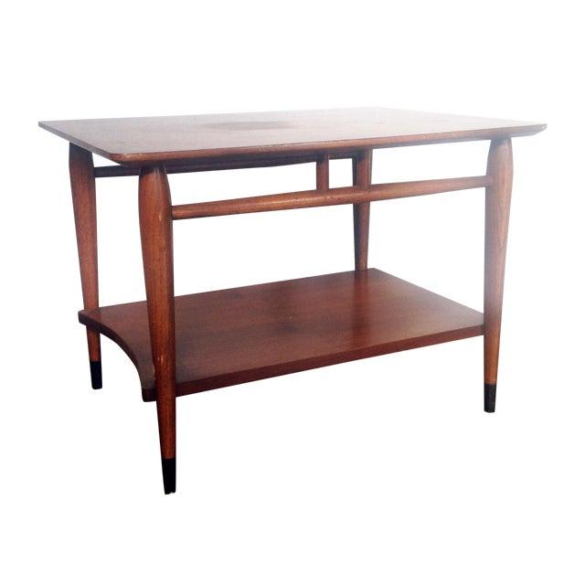 mid century wood coffee table lane chairish. Black Bedroom Furniture Sets. Home Design Ideas