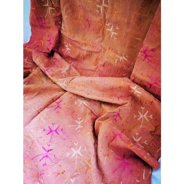 Vintage Indian Phulkari Textile - Image 4 of 4