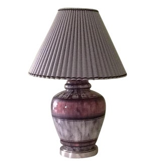 Gray & Rose Lamp