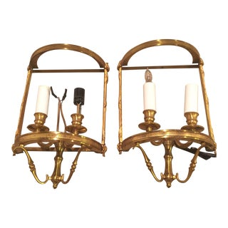 Gilded Sconces - Pair