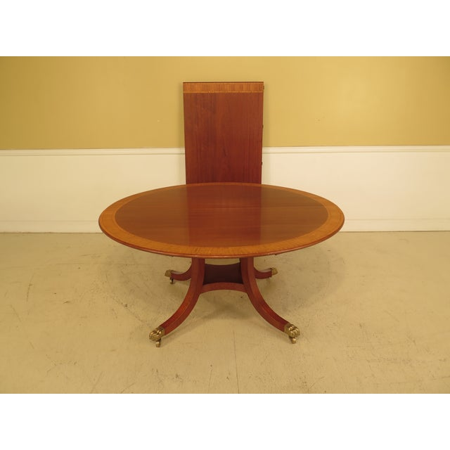 William Tillman Custom Made Round Mahogany Dining Room