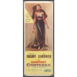 "Ava Gardner ""The Barefoot Contessa"" Film Poster"