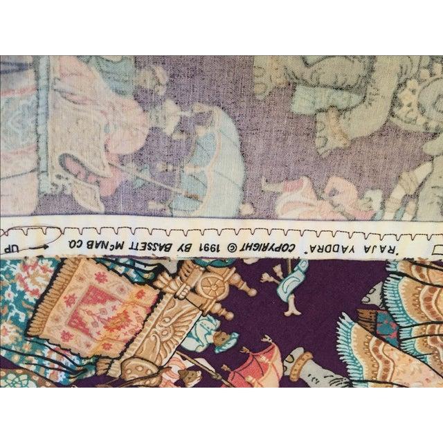 Vintage India Elephant Festival Fabric - 2 Panels - Image 6 of 6