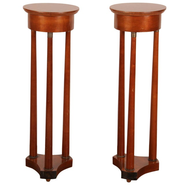 Early 19th Century Danish Mahogany Pedestals - Image 1 of 8
