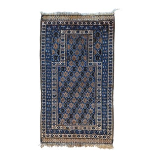 Vintage Baluch Accent Rug - 2′6″ × 4′5″