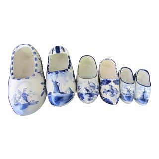Vintage Delft Clog Collection