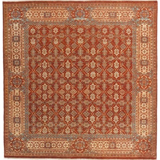 """Hand-Knotted Rug of Mamluk - 6'5"""" x 6'9"""""""
