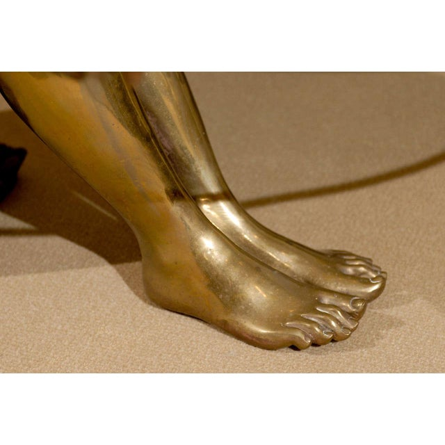 Bronze Woman Coffee Table: Exquisite Exceptional Female Nude Sculpture Coffee Table