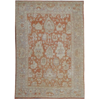 "Hand Knotted Oushak Rug by Aara Rugs Inc. - 10'9"" X 8'2"""