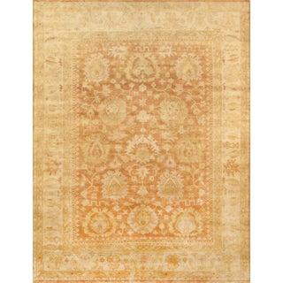 "Oushak Handmade Wool Area Rug - 9' X 12'1"""