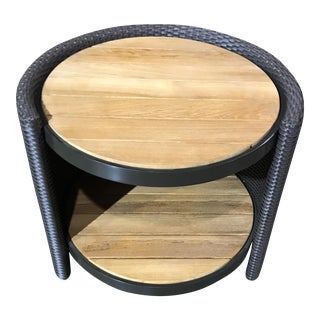 Barbara Barry for McGuire Outdoor Horizon End Table