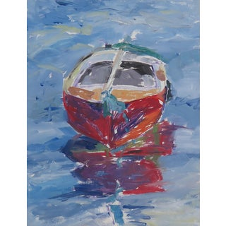 Topsy Boat Painting