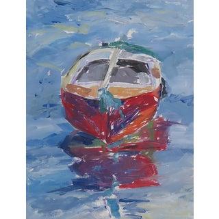 Topsy Boat Painting