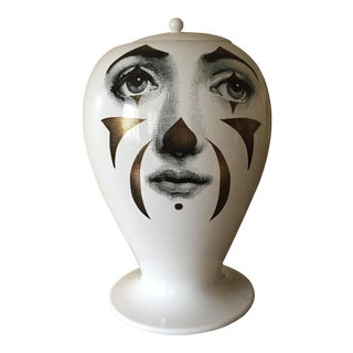 Piero Fornasetti Handmade Vase