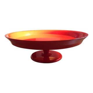 Serena & Lily Flame Pedestal Tray