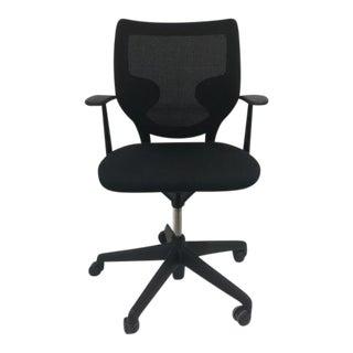 Keilhauer Simple Black Mesh Chair
