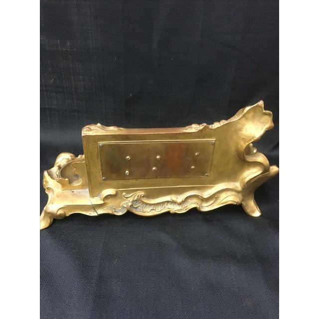 Brass Equestrian Desk Caddy - Image 6 of 7
