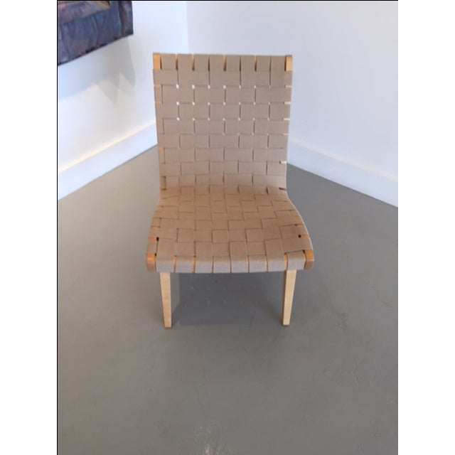 Original And Signed Jens Risom Lounge Chair - Image 3 of 9