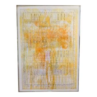 Listed Artist Darryl Nettles Painting - Calendar #1