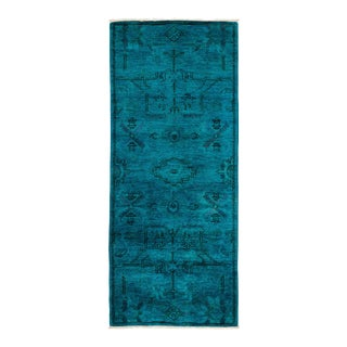 "Vibrance Hand Knotted Runner Rug - 2' 6"" x 6' 0"""