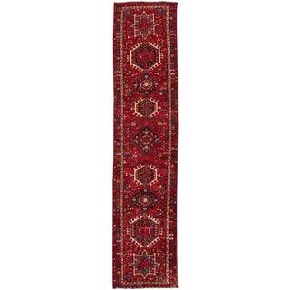 "Apadana - Vintage Persian Heriz, 3'1"" x 14'"