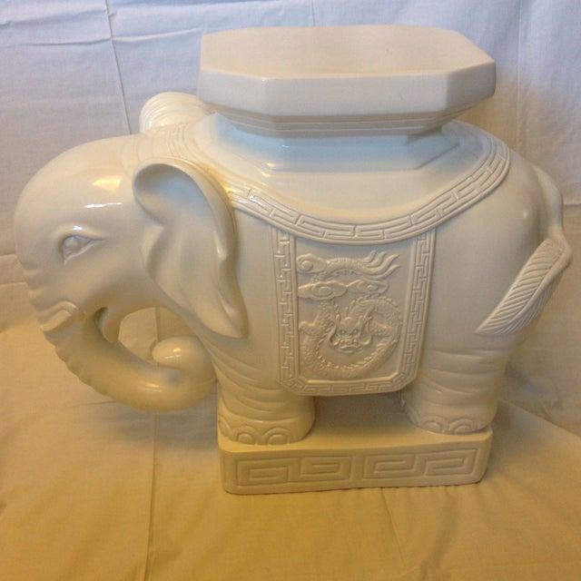 Lilly Pulitzer Elephant Garden Stool Chairish