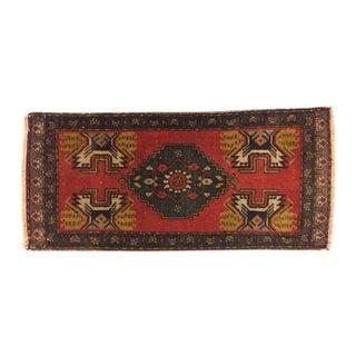 Anatolian Turkish Rug - 1′6″ × 3′5″