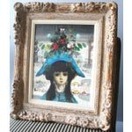 """Image of Jean Calogero Oil Painting """"Arlequine"""" (signed)"""