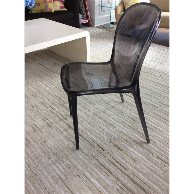 Grey Kartell Thalya Dining Chairs - Set of 5 - Image 5 of 8