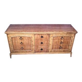 Banded Burl American Dresser