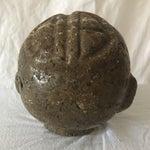 Image of Vintage Granite Head Sculpture
