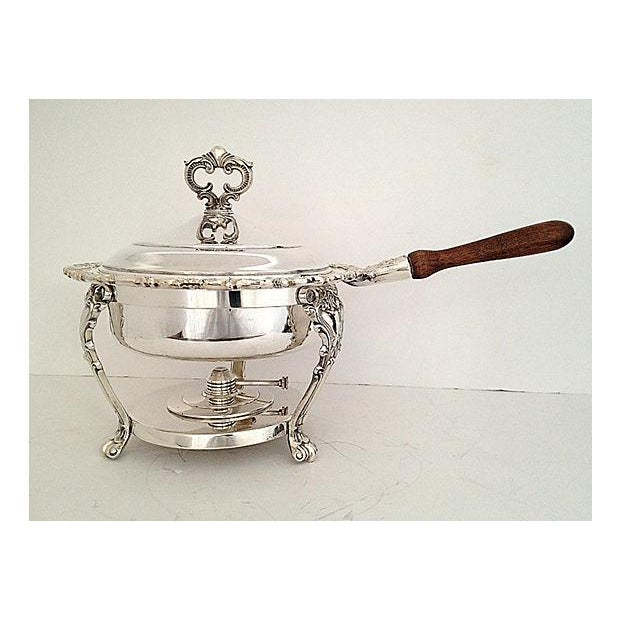 F.B. Rogers Silverplated Chaffing Dish Set - Image 9 of 10
