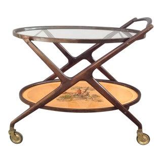 Cesare Lacca Oval Bar Cart