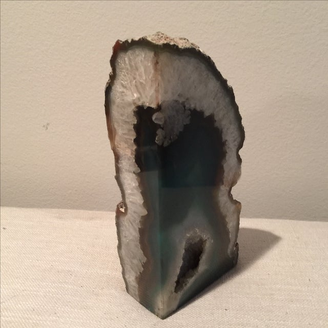Emerald Green Agate Bookend - Image 7 of 7