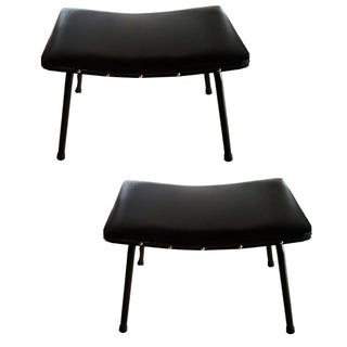 Pierre Gariche for Meurop Vintage Stools - Pair