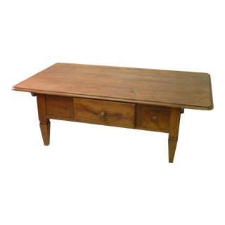 French Country Cherry Coffee Table