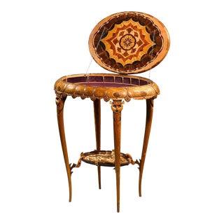 Rare Art Nouveau Worktable