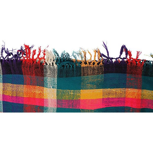 Moroccan Striped Blanket - Image 6 of 7
